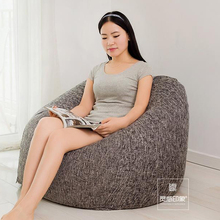 The Cartoon Pig style Bean Bag Chair Garden Camping Beanbags covers Lazy Sofa Anywhere Portable Sitting Cushion 90×90(hight)cm