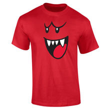 Mens Boo Face Ghost Gamer T-shirt NEW S-XXL New T Shirts Funny Tops Tee Unisex free shipping Basic Models