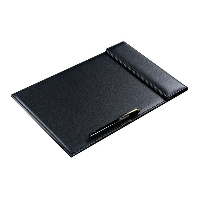 A4 Document Bag File Folder Clip Board Business Office Financial School Supplies PU Leather Made Super Promotion On Now