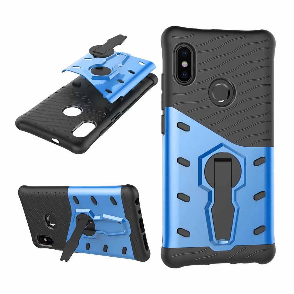 wholesale dealer ce3e6 77070 For Xiaomi Redmi Note 5 Pro Note5 Pro CASE Shockproof Rugged Armor Hybrid  Case 360 Stand Cover For Redmi Note 5 Pro