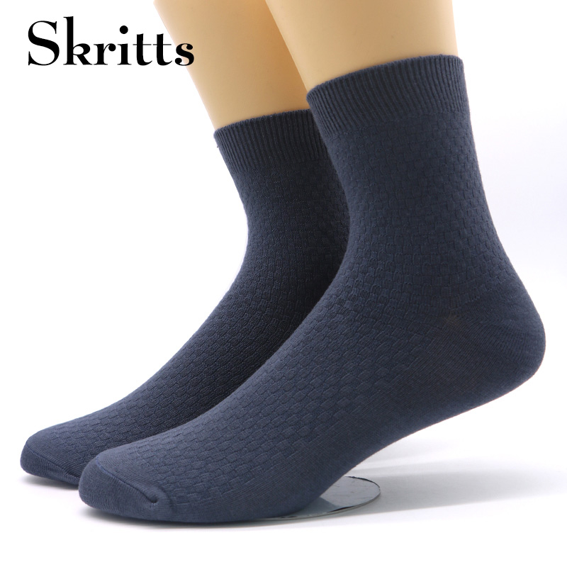Skritts 12Pairs Mens Ankle Socks Men Classic Business Dress Socks Calcetines Hombre Mens Socks Breathable Thermal Socks Meias