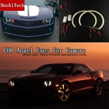 High Quality COB Led Light White Halo Cob Led Angel Eyes Ring Error Free For Chevrolet Camaro 2010 2011 2012 2013