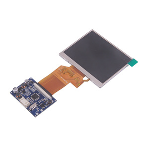 Image 2 - 3.5 بوصة TFT LCD 320*240 وحدة عرض DC12V لوحة للقيادة اثنين من قناة إدخال الفيديو