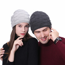 2d72bb87ea4 Unisex Cap Knitted Hat Bluetooth Music Hat with Stereo Headphone Headset  Speaker Wireless Winter Warm Beanie