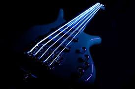 Cordes de guitare basse luminescentes DR K3 hi-def Neon White, lumière 40-100 ou moyenne 45-105 ou 5 cordes 45-125 - 3