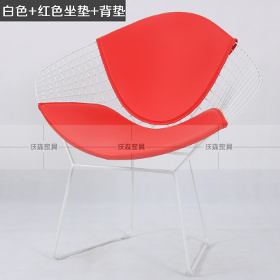 Minimalist Modern Harry Diamond Leisure Chair Diamond Steel Wire Chair  Furniture Chair Bertoia Diamond Chair Cushion Powderco In Dining Chairs  From ...