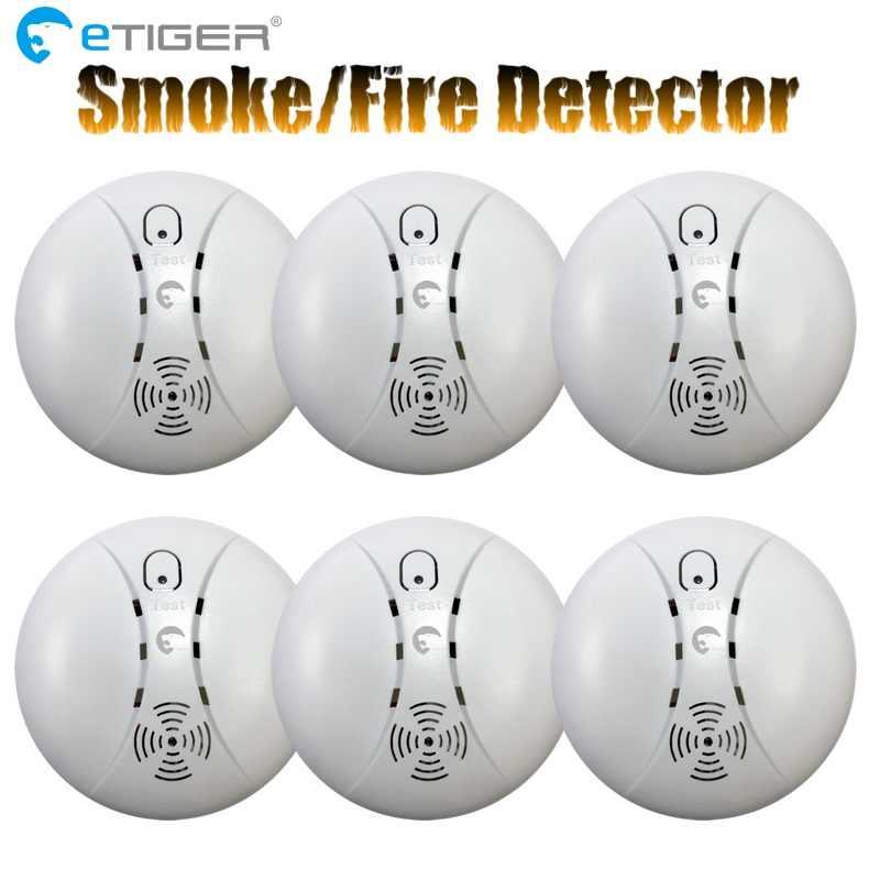 ETiger のためのホット販売ワイヤレス煙探知機火災警報センサー ES-D5A Etiger 警報システム S4/S3B パネル