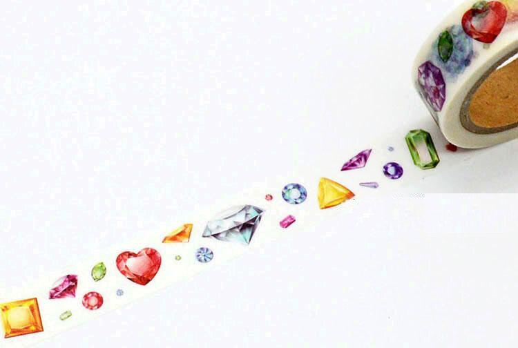 ᗑ1 rollo = 15mm x 7 m alta calidad de diamantes patrón japonés ...