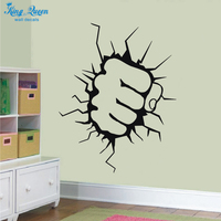 Incredible Hulk Wall Stickers Home Decor Vinyl Transfer Decals Stikers For Wall Decoration Kids Wall