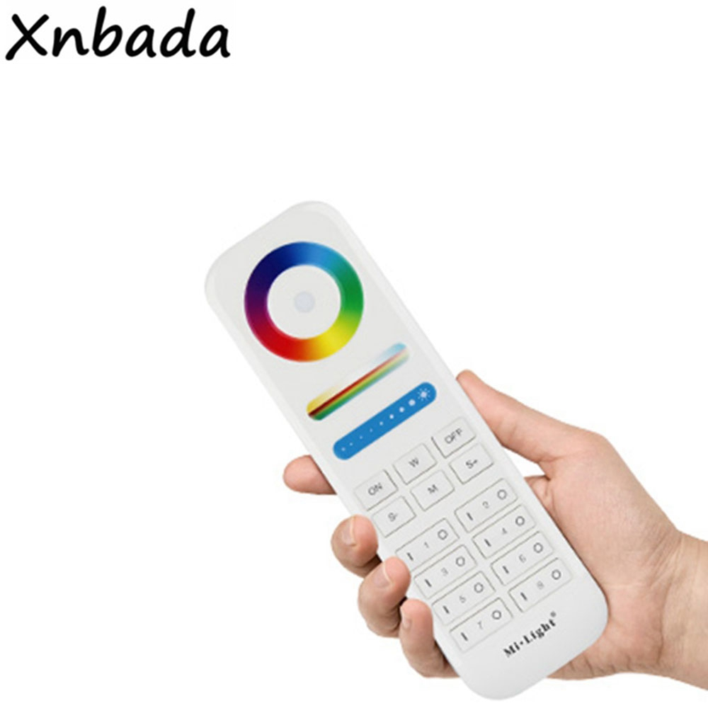 Mi.Light 2.4GHz Remote Control 8-Zones RGB+CCT Led <font><b>Controller</b></font> Work With <font><b>LS2</b></font> Or Milight RGB+CCT Floodlight image
