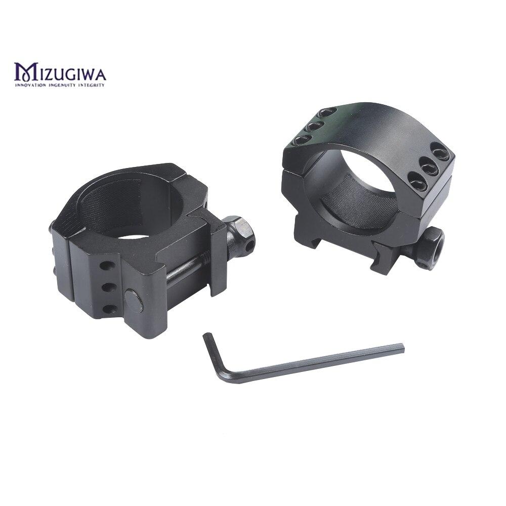 Mizugiwa-Low-Profile-6-Bolts-30mm-Ring-Weaver-Heavy-Duty-20mm-Picatinny-Rail-Base-Scope-Mount (1)