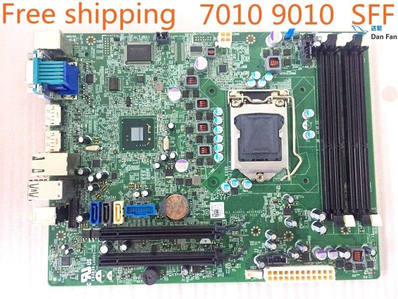 For DELL Optiplex 7010 SFF 9010 SFF Q77 Desktop Motherboard WR7PY GXM1W WDRVH 51FJ8 Mainboard 100%tested Fully Work
