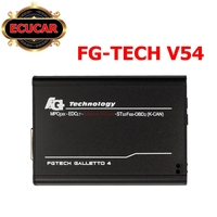 Fgtech Galletto 4 Master v54 ECU, herramienta FG Tech V 54, conjunto completo maestro fg-tech BS, soporte función BDM