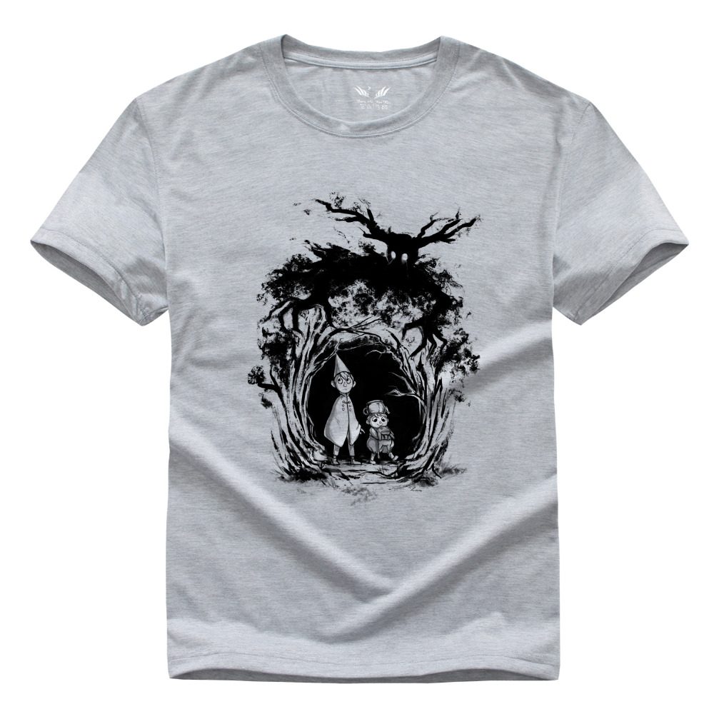 Over The Garden Wall T-shirt Wirt Greg Beatrice Print Original Design Fashion Casual Cotton Tee tops anime shirt