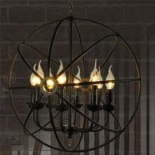 Vintage Pendant Light American Industrial LOFT Bar Cafe Decor lampe suspendue Lamparas Lustre E14 110 – 240 V