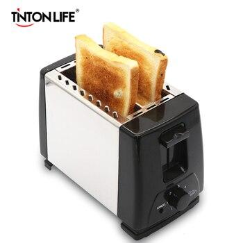 TINTON LIFE Household Bread Baking Machine  Kitchen Appliance Toaster For Breakfast Тостер