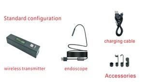 Image 5 - 8mm 1200P 2M 5M 10M Semi Rigied Wifi Endoscoop Inspectie Borescope Snake Video Flexibele camera Voor IOS Android Auto Detectie