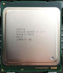 Image 2 - インテルxeon E5 2690プロセッサ2.9ghz 20mキャッシュlga 2011 srolo C2サーバーcpu