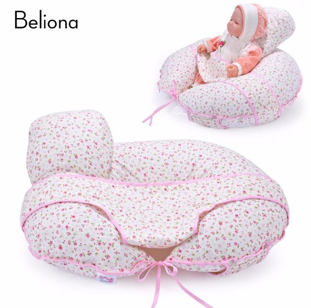 6 Estilos Bebê Infantil Amamentação Travesseiro Travesseiros de Enfermagem Confortável Algodão Destacável Multifunções Múmia Breat Alimentação Travesseiro