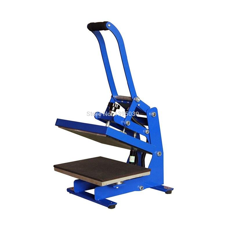 1 PC 23X30CM Small Heat Press Machine 3D Printed Machine Digital Printing Sublimation Printing T Shirt Heat Press Machine - 2
