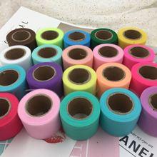 Table Runner Ribbon Giftbox-Wrap Wedding-Decoration Mesh-Roll Tulle Organza 5cm 25yards