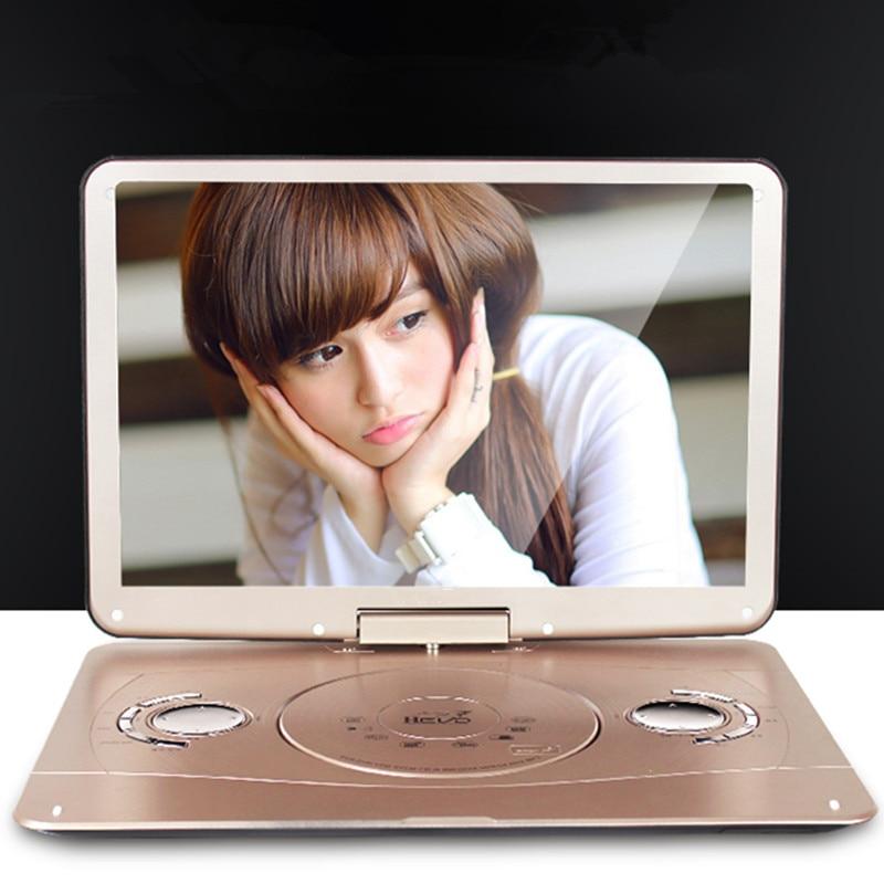 Portativ DVD 18.8 INCH 3d mobil dvd evd portativ EVD pleyer hd VCD - Evdə audio və video - Fotoqrafiya 3