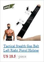 Liberação Rápida Ajustável Correias Rifle Pouch