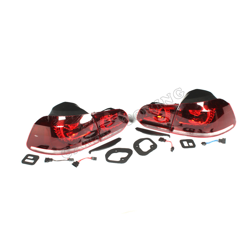 ABS Auto Car Tail lamp Rear Light for Volkswagen VW Golf 6 MK6 LHD  NO.5K0 941 055/056 2009-2012 new 12v 55w left right front fog lamp light 8321a467 sl870 1 fit for mitsubishi outlander asx rvr