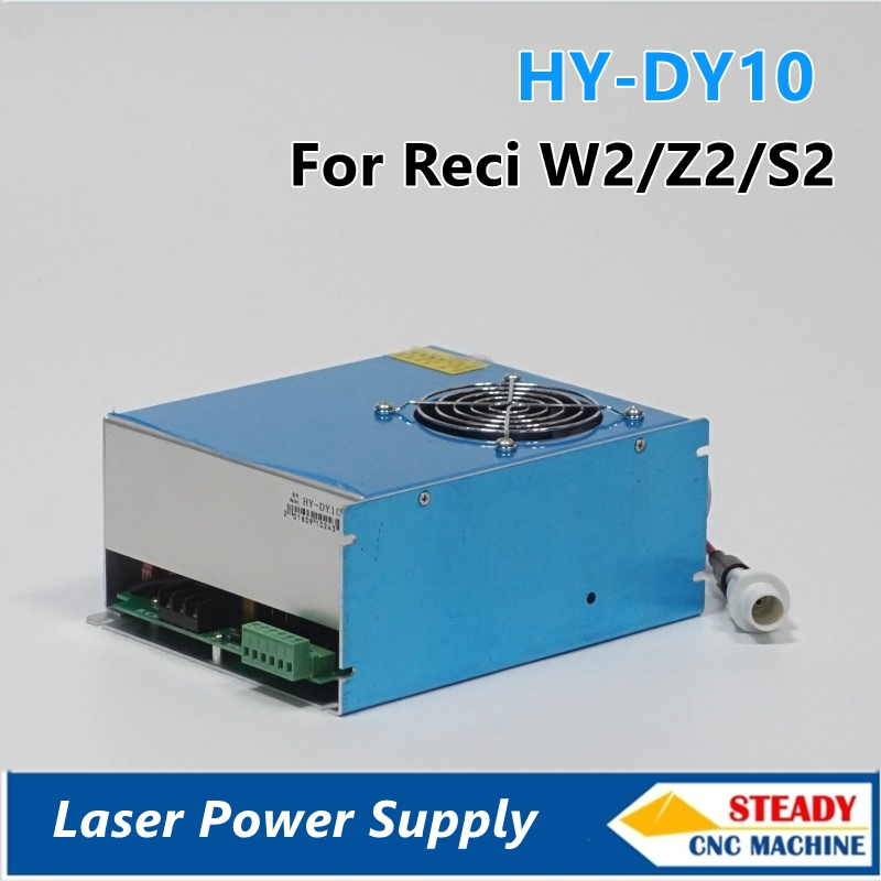 high quality DY10 co2 laser power supply  80W S2 laser tube
