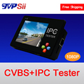 Wrist Touch screen 3.5 inch Wide angle screen  1080P 2MP Two in one  Analog and IP  Surveillance cameras Tester