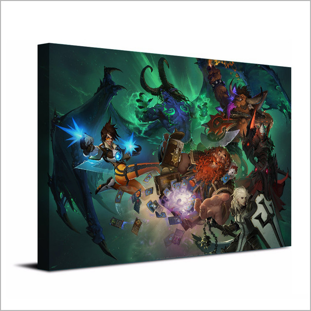 1 Piece Canvas Art Canvas Painting Game Blizzard Warriors HD Printed Wall Art Home Decor Poster Pictures for Living Room XA1477C 3
