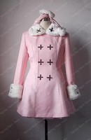 Axis Powers Hetalia APH Russian Anna Braginskaya Cosplay Costume Anime Custom Made Pink Dress