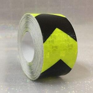 Image 4 - 3M Sicherheit Mark Reflektierende band aufkleber auto styling Selbst Klebe Warnband Automobile Motorrad Reflektierende Film