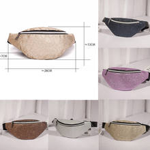 2018 Summer New Style Fashion Women Waist Fanny Pack Holiday money Belt Wallet Mini Bum Travel Bag Pouch 2018(China)