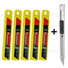 Paper Utility Knife Blades School Supplies Portable Office Small Tool Stationery Car Sticker Carbon Foil Cutting