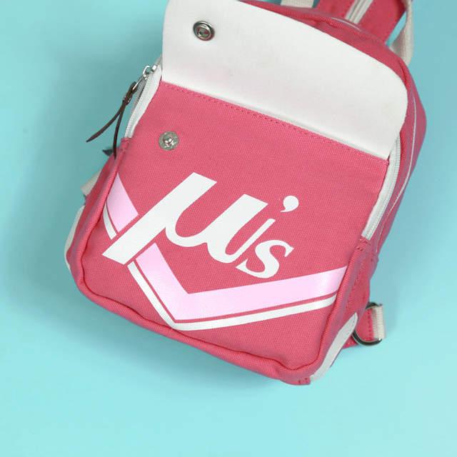c7f60152df placeholder 2016 LOVE LIVE cartoon Canvas backpacks girls student school  backpack anime cartoon bag