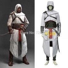 Anime juego de Roles Traje de Assassin creed Altair Ibn-la tenía Completo Cosplay Disfraces Traje Para Los Hombres y mujeres