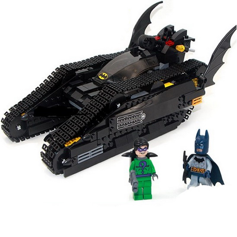 Decool 7108 Batman Chariot Super heroes The Bat Tank Figure Blocks Construction Building Toys For Children Compatible Legoe