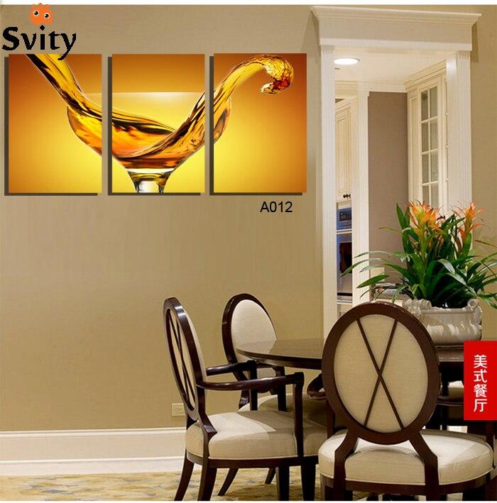 panel moderna impresa vaso de taza cuadro de la pintura sobre lienzo kitchen u restaurant decoracin cuadros del paisaje para