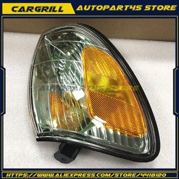 For Lexus LX470 1998-07 Front Bumper Turn Signals Lights Corner Lamp No Bulb