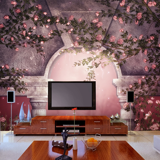 Free shipping Dream fashion mural tv background wall wallpaper entranceway background wallpaper,wallpapers for living room 3D free shipping hepburn classic black and white photos wallpaper old photos tv background wall mural wallpaper