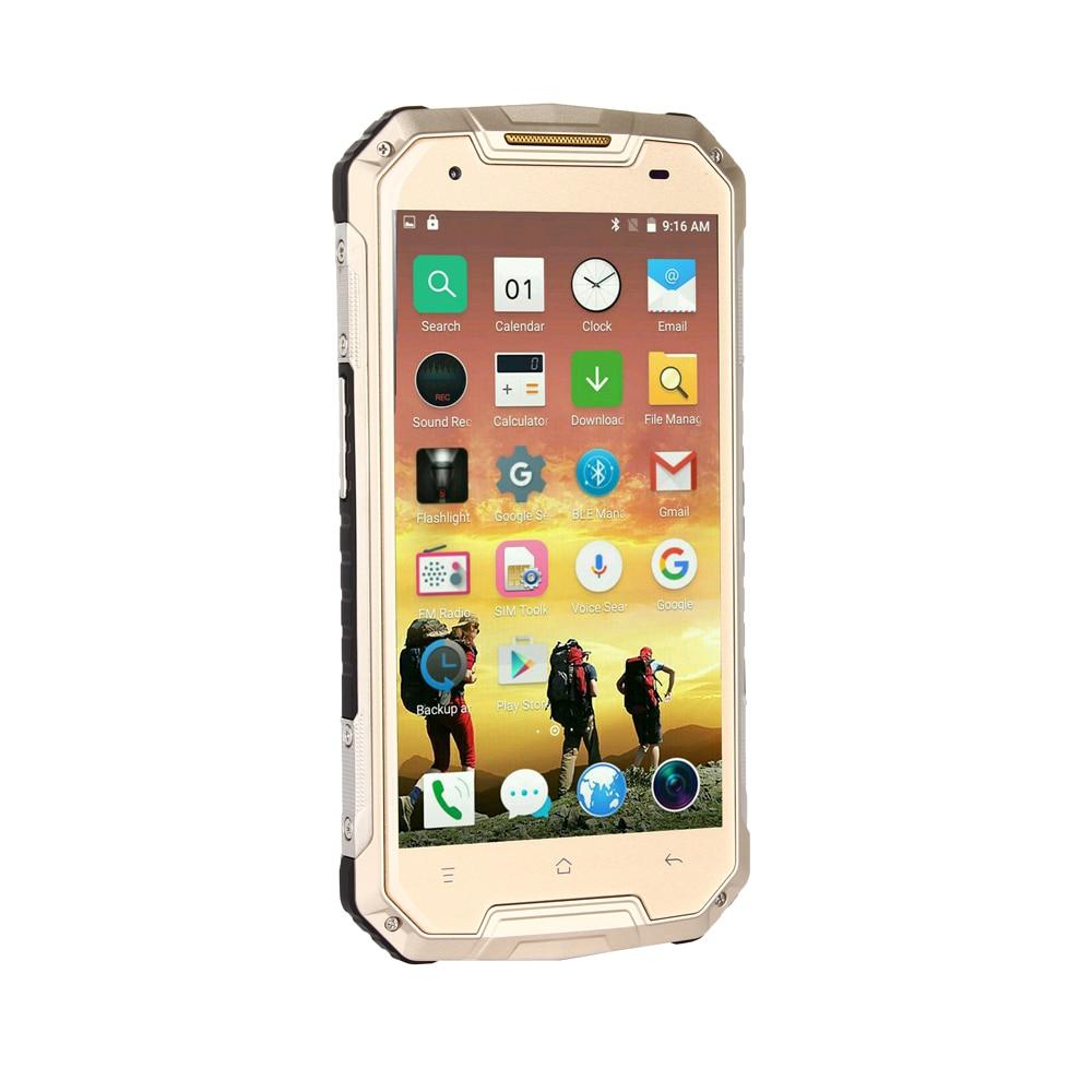 Robuste En Plein Air Android 5.1 Smartphone 5.0 pouces Écran QHD Quad Core RAM512 ROM 8 gb 3g WCDMA 2g GSM Antichoc Mobile Téléphone