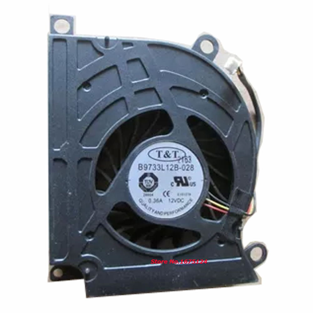 New original laptop cpu cooler Radiator blower fan cooling fan for MSI 16F1 16F2 16F3 1761 1762 GX660 GT680 GT683 GT60 GT70 new original cpu cooling fan for dell v5460 v5470 inspiron 14 5439 vostro 14z 3526 laptop cooler radiator graphics card fan