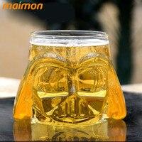 Vui Star Wars 3D Darth Vader Bia Glass Cup Steins với Tay Cầm Borosilicate Nước Cà Phê Wine Glass Cup Đảng Bar Drinkware
