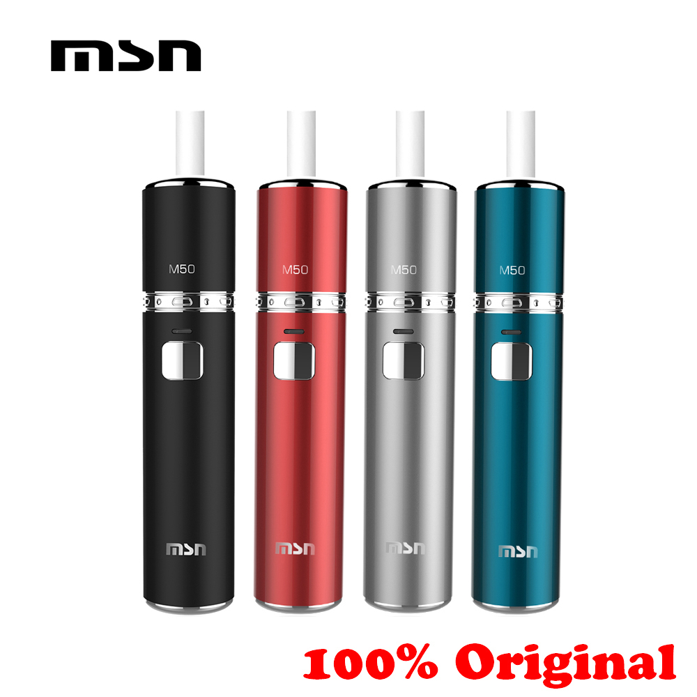New 2019 E Cig 100 Original MSN M50 ICOS Heat Not Burn Electronic Cigarette Kit Compatibility