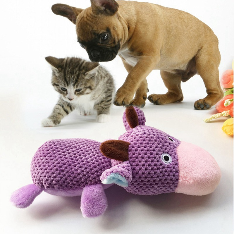 Pet Dogs Corn Velour Squeaky Chew Toy Pet Molds Molar Toy Solving <font><b>Boredom</b></font> Develop Intelligence image