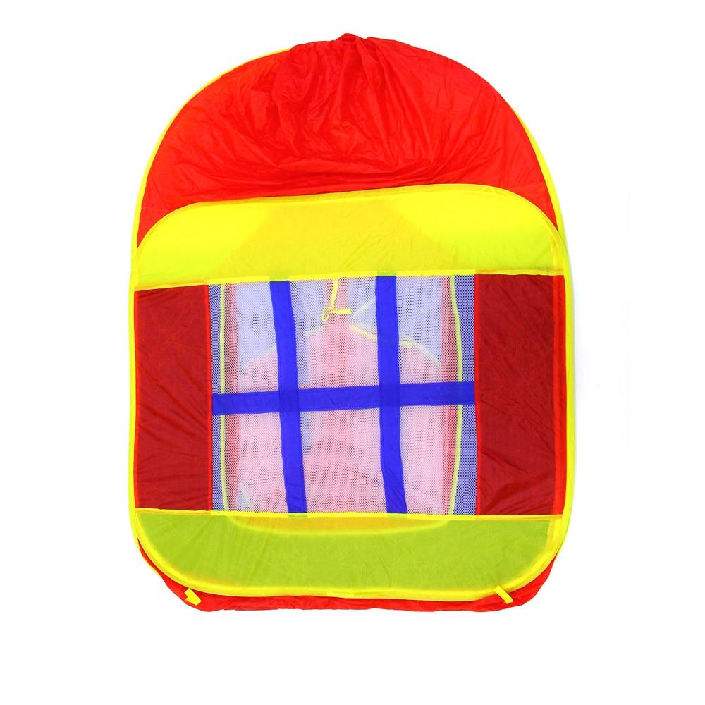 Enjoybay coloré pliable enfants tente jouer maison intérieure et extérieure facile pliage jeu maison Portable tente jouets pour enfants bébé - 2