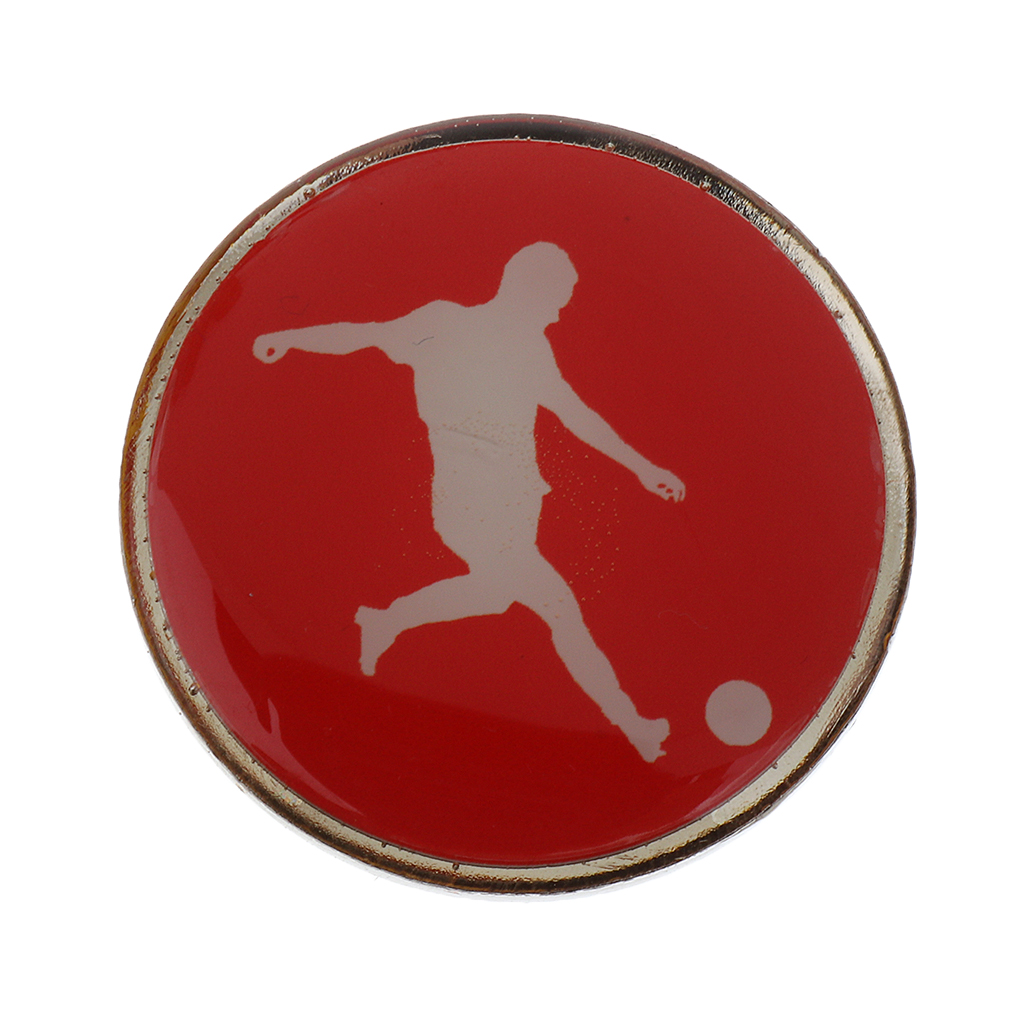 Football Soccer Badminton Table Tennis Referee Flip Toss Coin Disc 3.5cm Sports Soccer Accessories