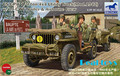 Bronco model CB35106 1/35 US GPW 1/4 ton 4X4 Utility Truck (Mod.1942) w/Crew plastic model kit