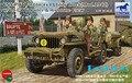 Modelo Bronco CB35106 1/35 ee.uu. GPW 1/4 ton Utility 4 X 4 camión ( mod. 1942 ) w / Crew kit modelo plástico